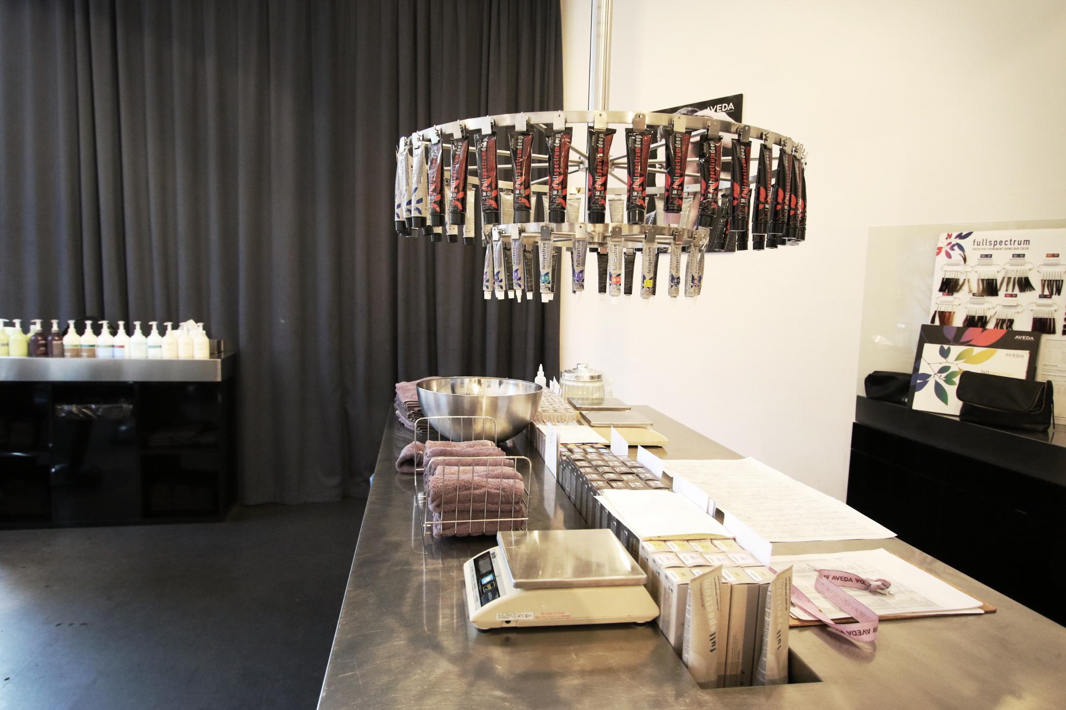 Aveda Salonbesuch / goldschnee.com