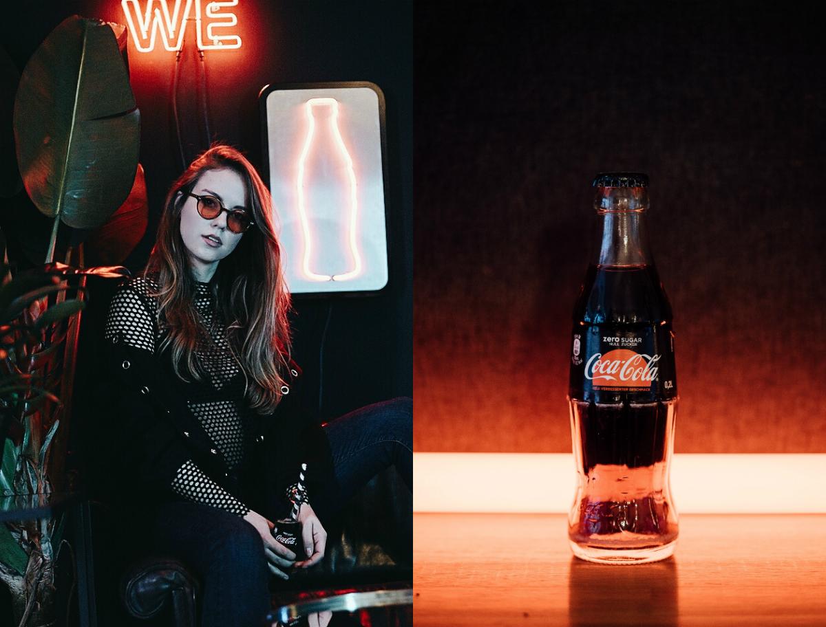 Coke Zero Sugar X SisterMag